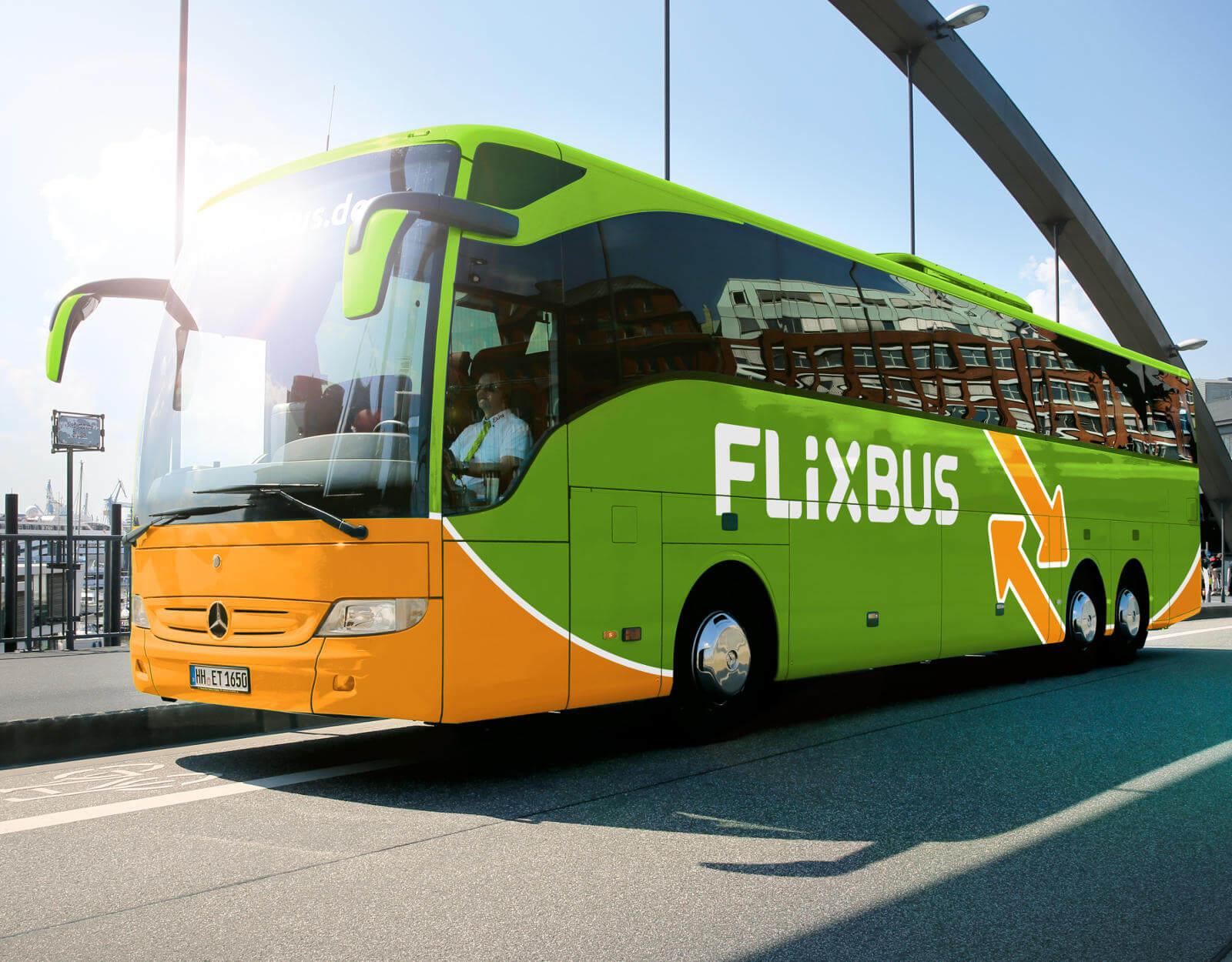 長距離・短距離バス Flixbus