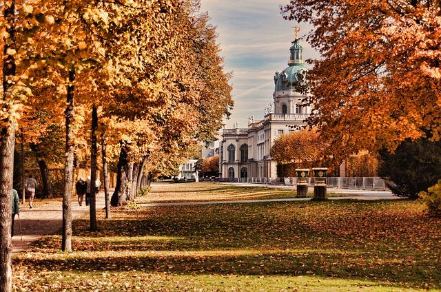 秋のベルリン