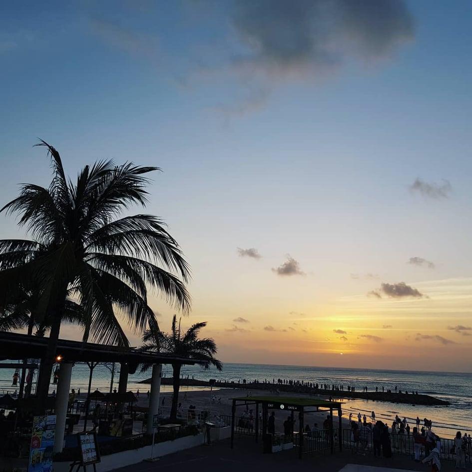 バリ島サンセット
