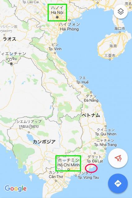 ファンティエットマップ