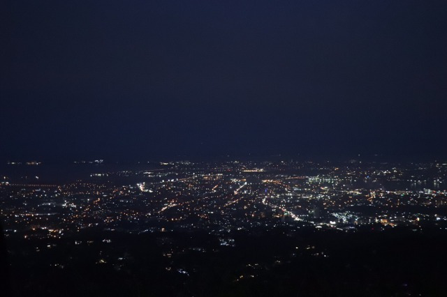 トップスから見た夜景