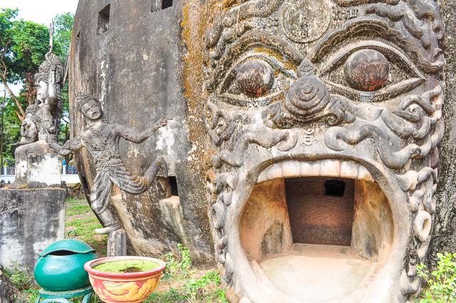 ブッダ・パークの仏像