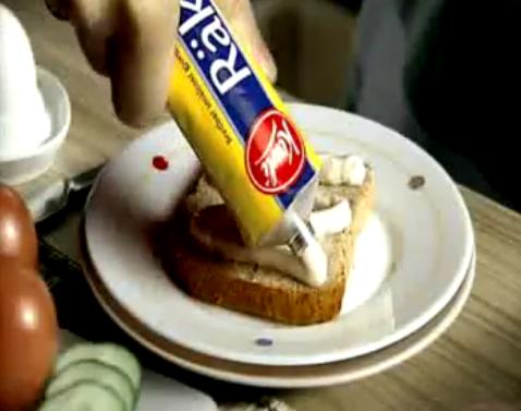 チューブ式チーズ