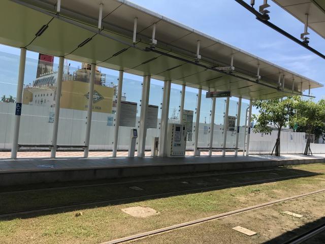 ライトレールの駅