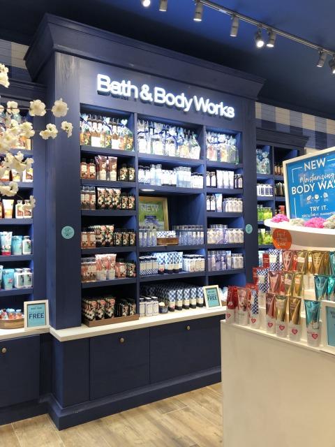 アメリカで定番のBath & Body Works