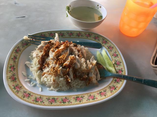 タイのカオマンガイ
