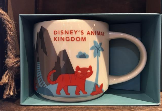 アニマルキングダムのスターバックスのマグカップ