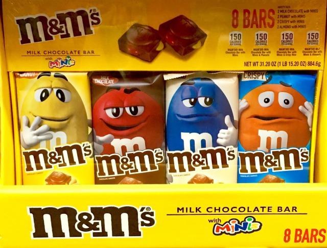 M&Mチョコレートバー