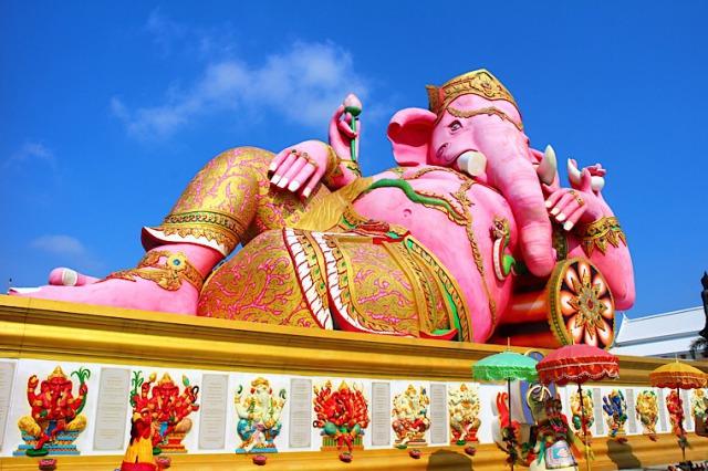 タイのピンクガネーシャ