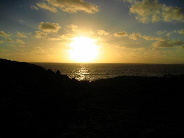 Peaceful Bay sunset