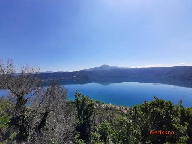 イタリア アルバーノ湖