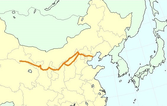 長城分布地域