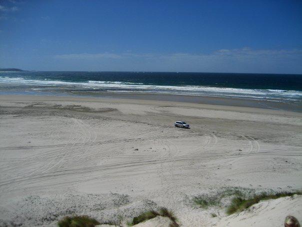 Peaceful Bay by car