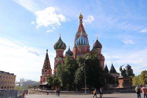 ポクロフスキー聖堂の外観