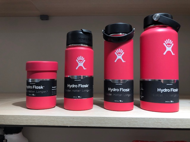 Hydro Flask ピンク