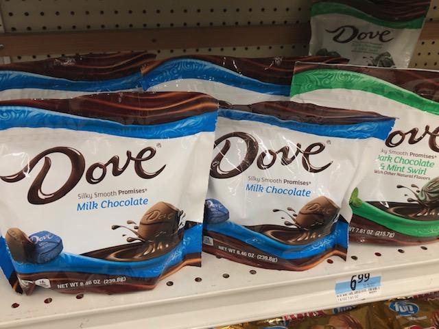 Doveチョコレート