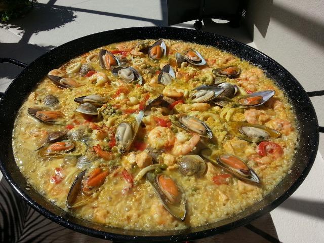 スペイン料理の例