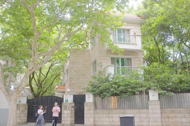上海フランス租界地