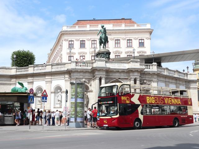 ウィーンの中心部