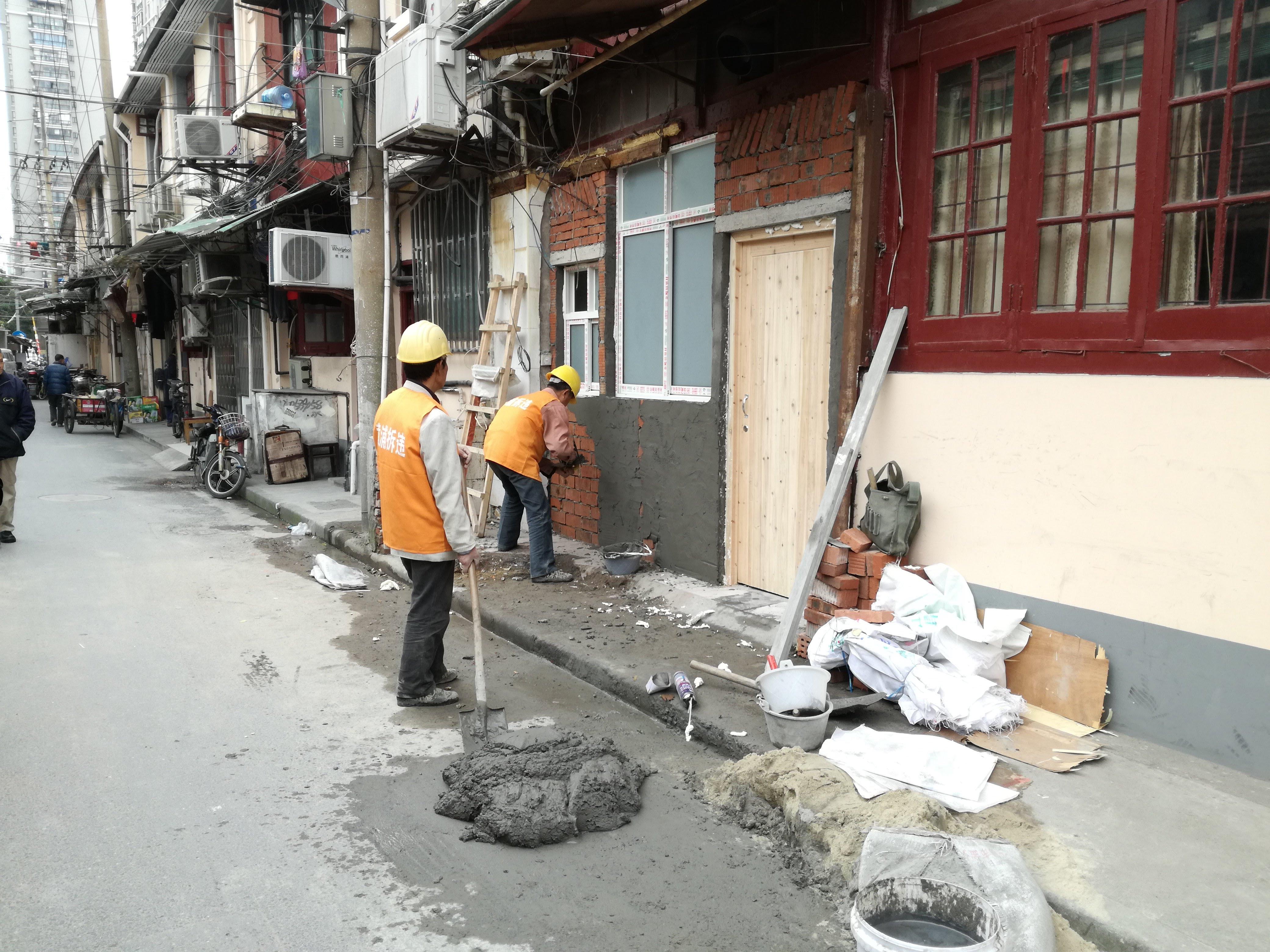 上海工事現場