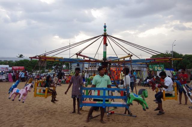 マリーナビーチの遊具