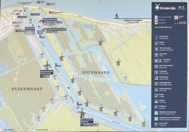 キンデルダイク地図
