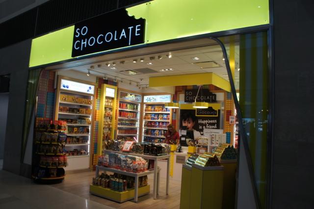 So chocolate