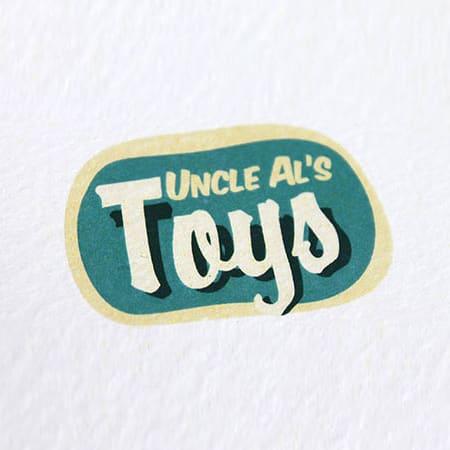 Uncle Al's Toys - identitate vizuala