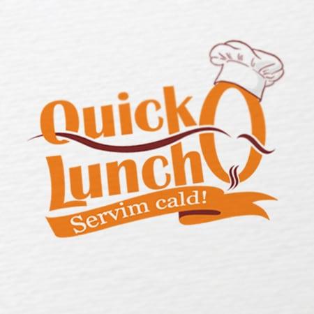Quick Lunch - identitate vizuala
