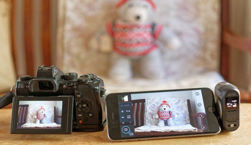 dx one camera