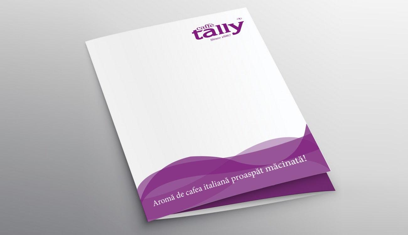 Tally Caffe - mapa prezentare