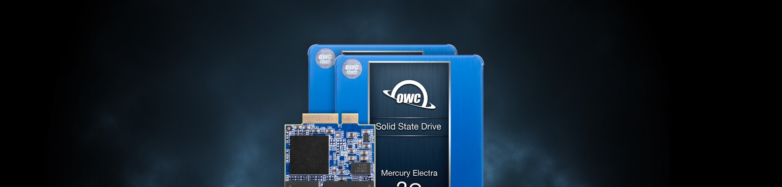 OWC SSDs Designed for Apple Laptops and Desktops