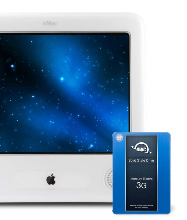 SSD Upgrade Kit for Apple eMac