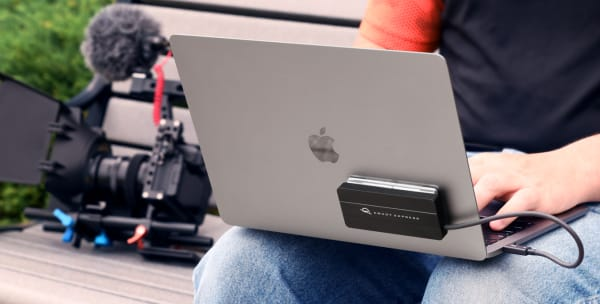 OWC Envoy Express με MacBook Pro