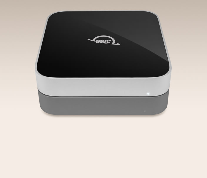 OWC miniStack - The external drive with a Mac mini footprint. Up to 14TB!