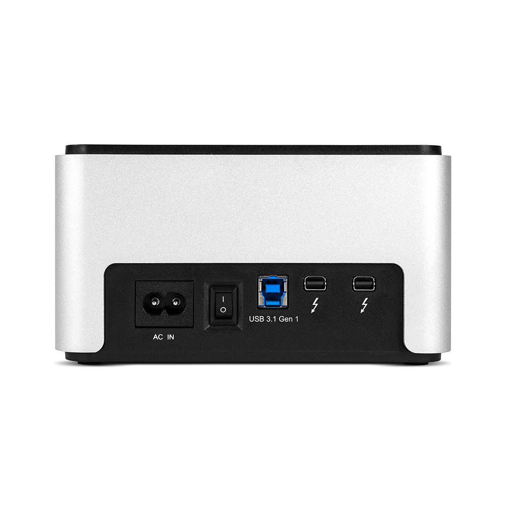 OWC Drive Dock with Thunderbolt 2 + USB 3.1 Gen 1 Back