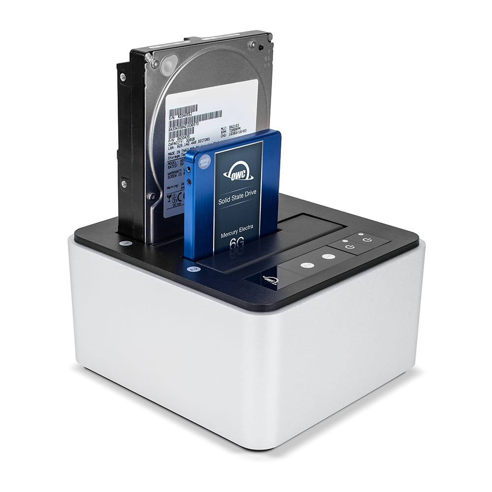 OWC Drive Dock with HDD & SSD