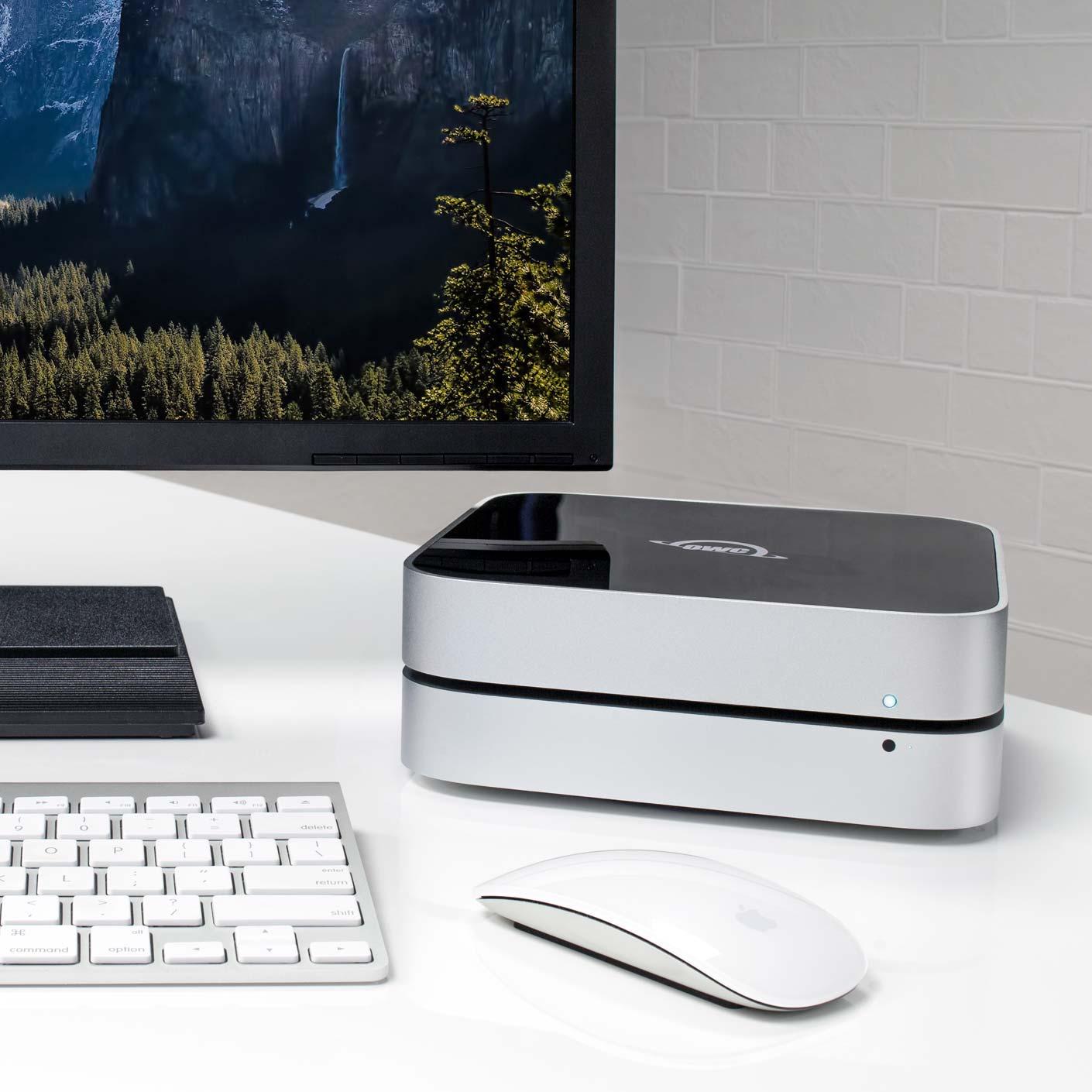 OWC miniStack - The External Drive with a Mac mini Footprint