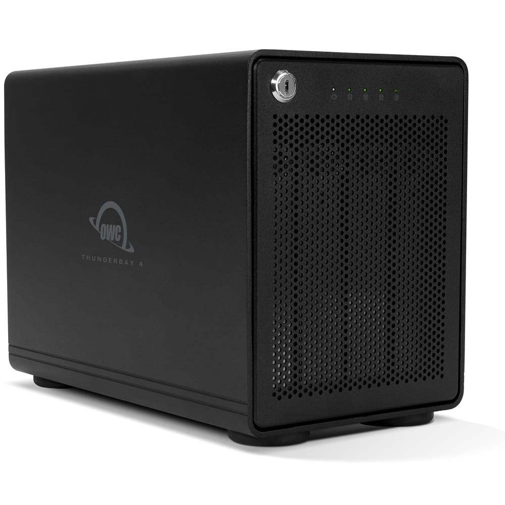 OWC ThunderBay 4 with Thunderbolt 3 Right