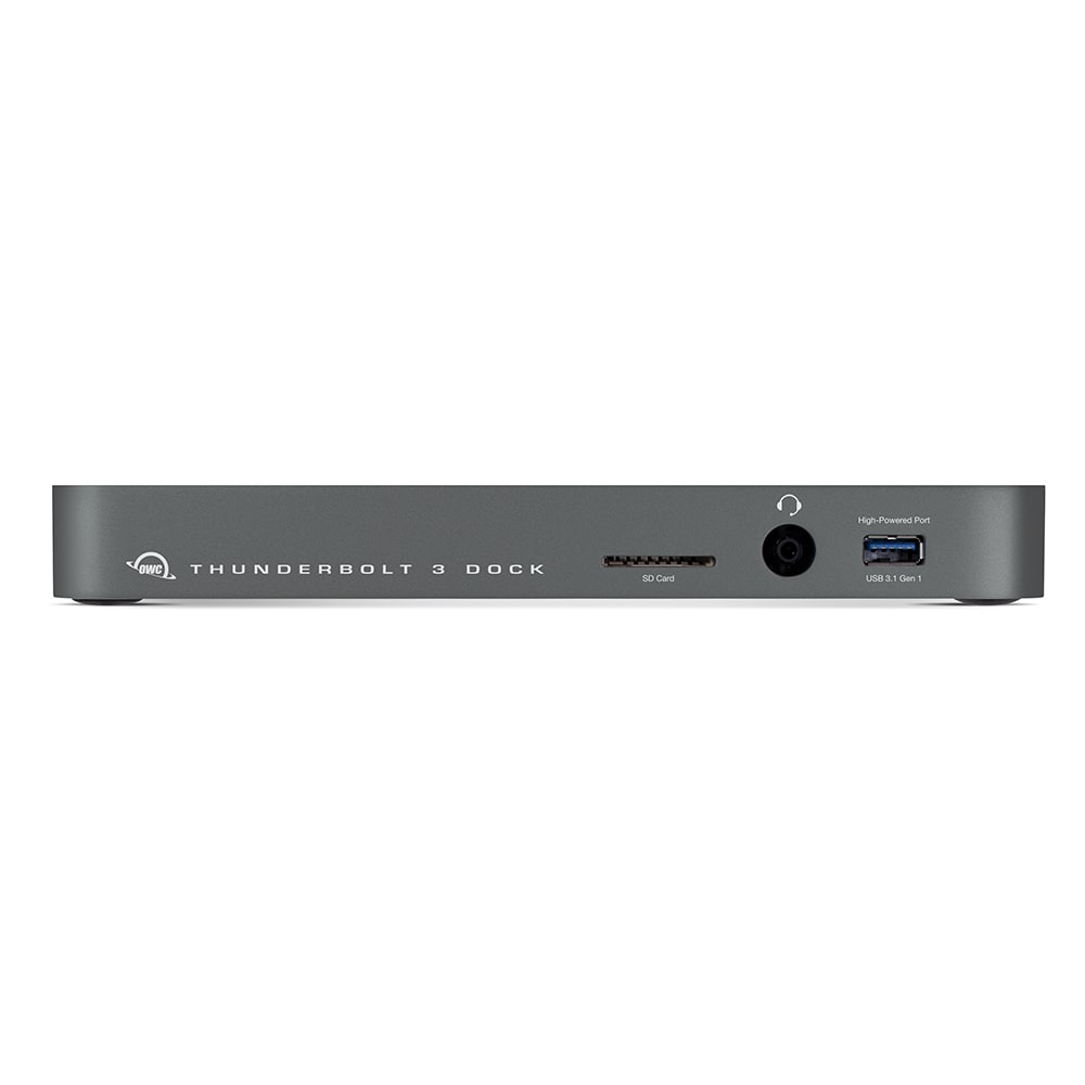 OWC 12-Port Thunderbolt 3 Dock in Space Gray