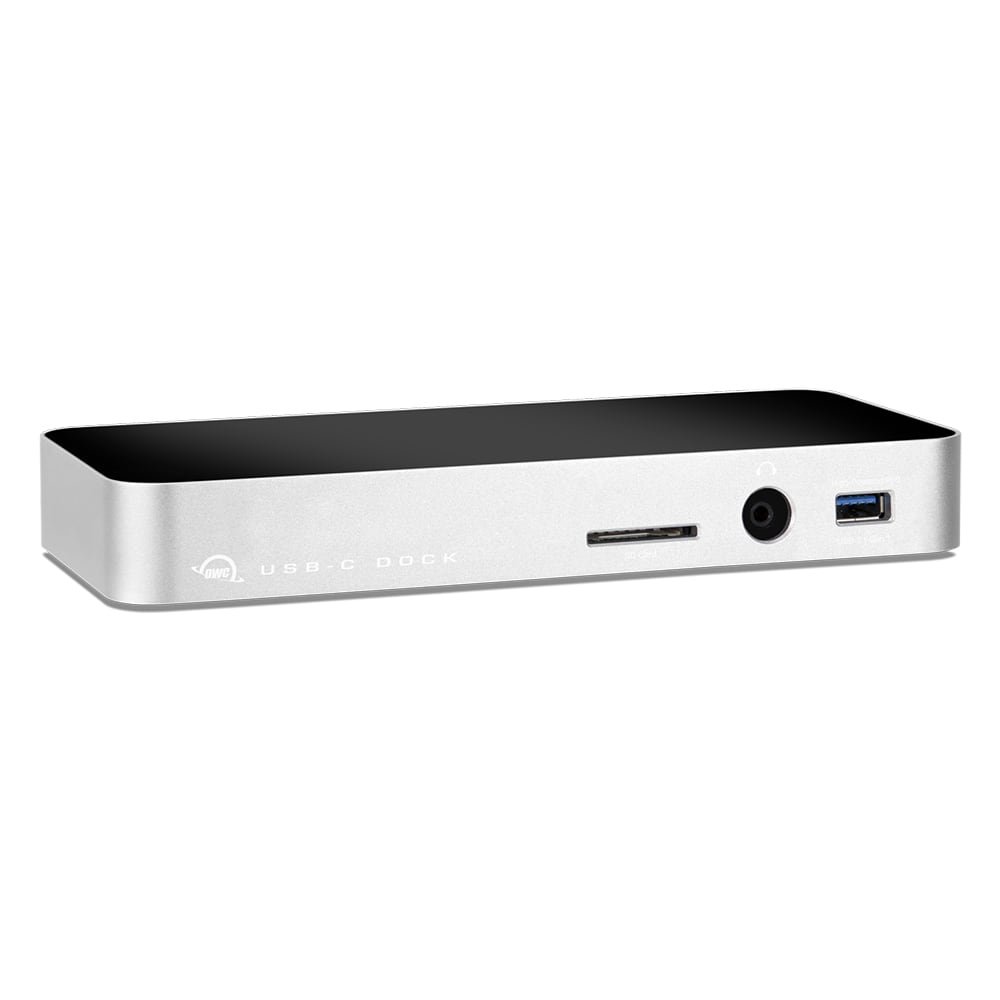 OWC 10-Port USB-C Dock in Silver