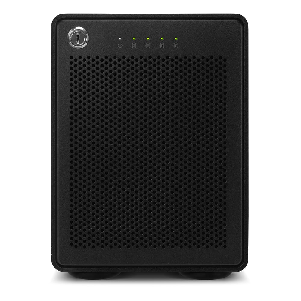 OWC ThunderBay 4 with Thunderbolt 3 Front