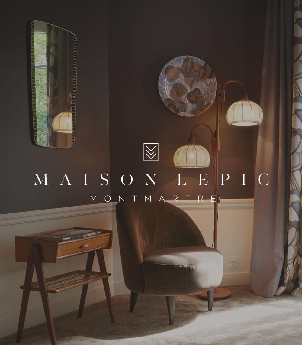 Maison Lepic, Montmartre