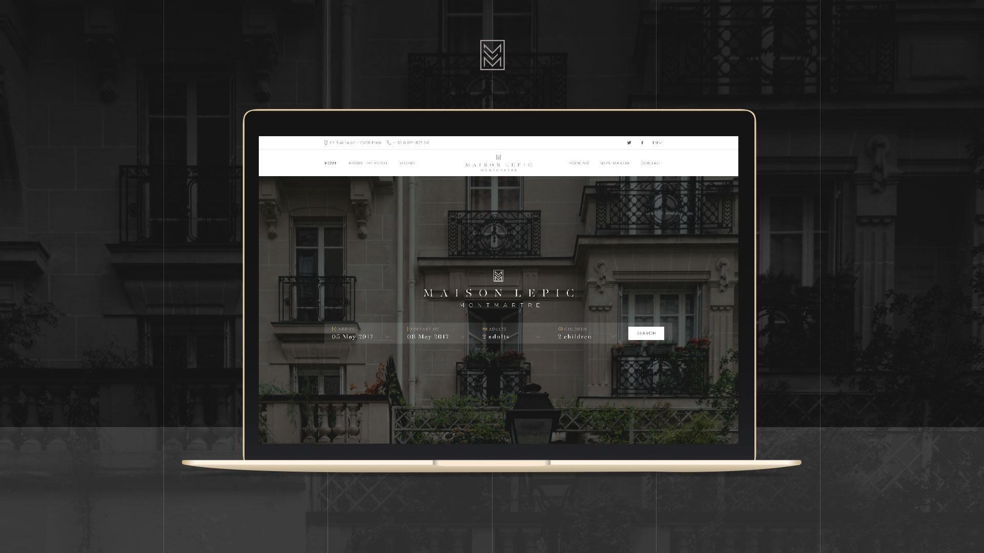 Maison Lepic, Montmartre - 1