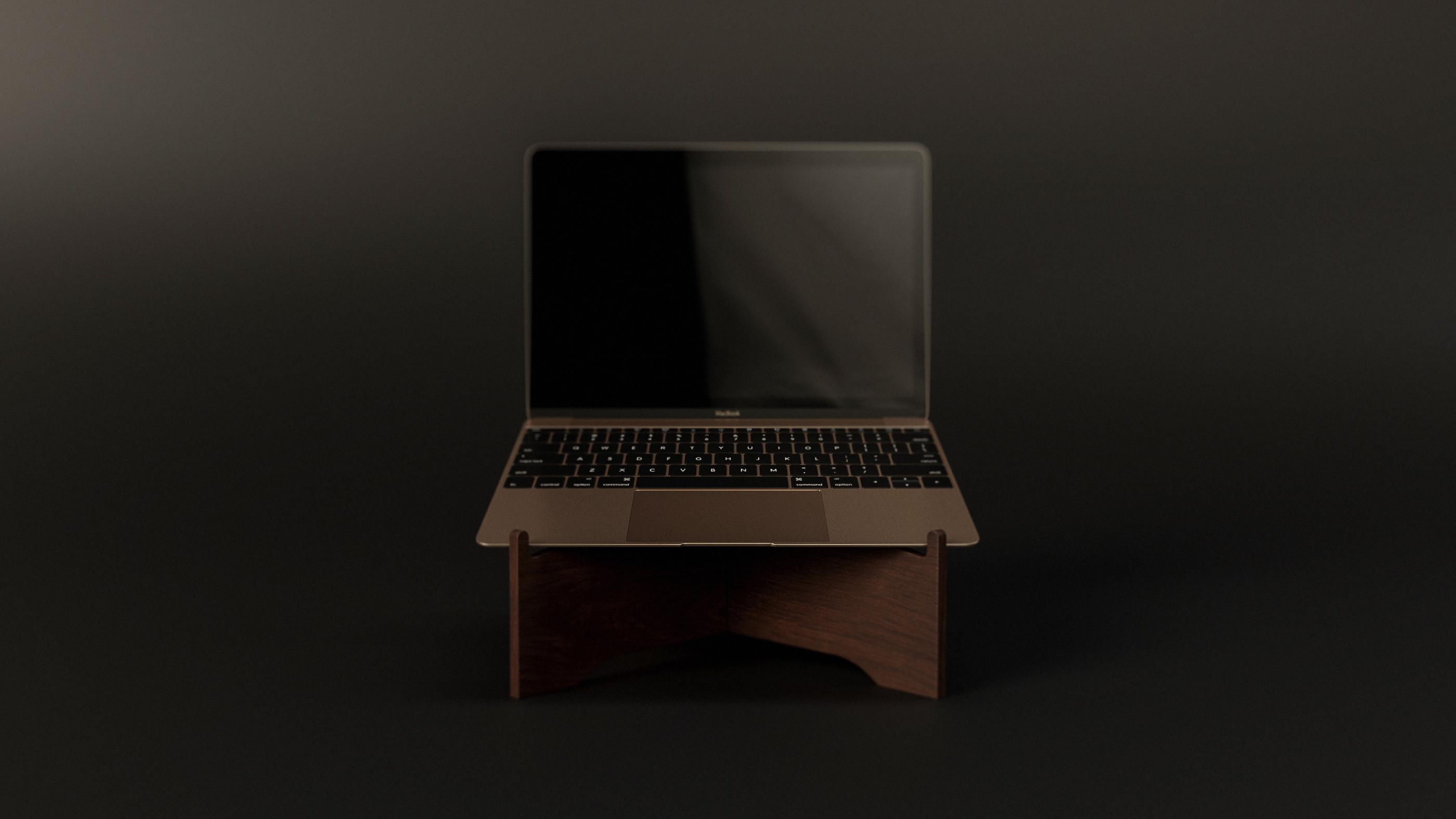 Macbook Stand - 1