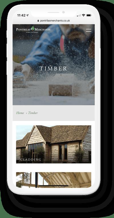Mobile Homepage