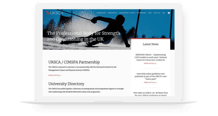 UK Strength and Conditioning Association Promotional Image