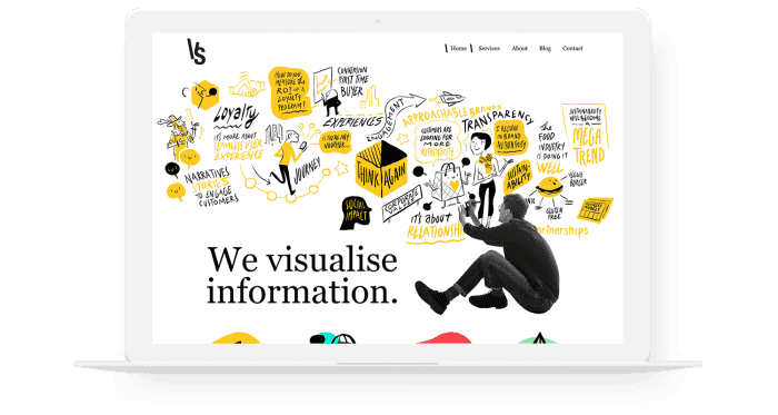 Visual Scribing Promotional Image