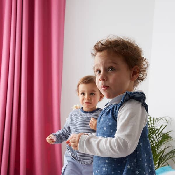 customer portrait of two children