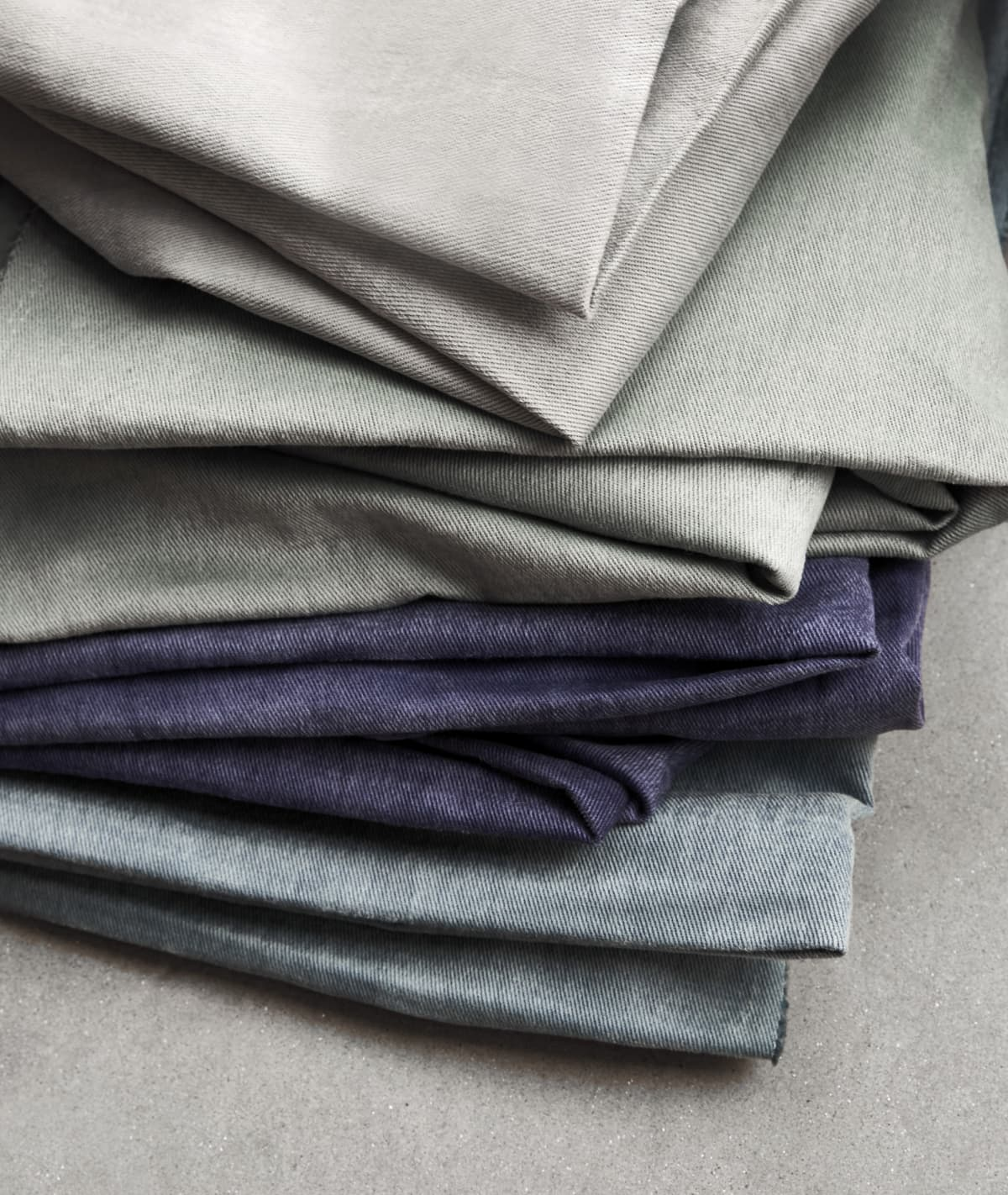 Stitched Cotton Twill Sustainable Curtains
